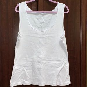 Tops - New 3x white tank top